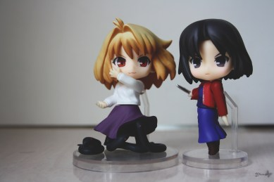 Arcueid & Ryougi Shiki - Tyoe Moon Selection - Nendoroid petit Good Smile Company